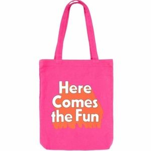 Ban.do Here Comes the Fun Hot Pink Tote Bag